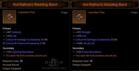 bul kathos s wedding band diablo wiki