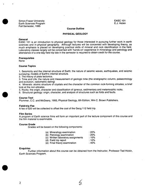 Eng 101 Sfu Outline by Macm 101 Sfu Course Outline Accounts Administrator Cover Letter