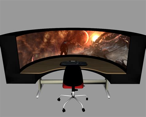 Best Gaming Computer Desk Cool Gaming Desks Ideas For Gamers 12941
