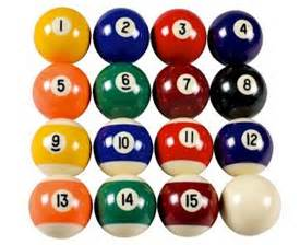 billiard colors the definitive guide to pool balls