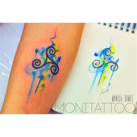 watercolor tattoo ireland pin by lindberg on ideas