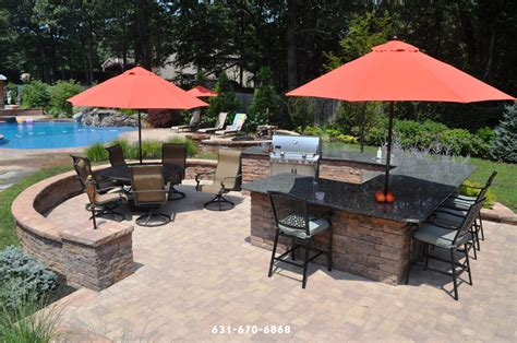 Kitchen Contractors Long Island by Outdoor Kitchens Masonry In East Moriches Ny 11940 Long