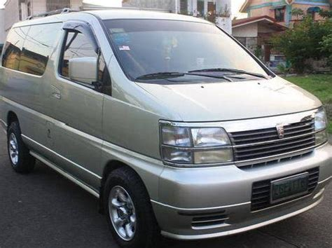 nissan family van van nissan elgrand used cars in cavite mitula cars