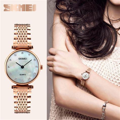 Skmei Jam Tangan Analog Wanita Cewek Ori Terbaru jam tangan wanita surabaya jualan jam tangan wanita