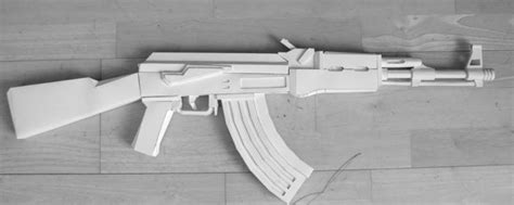 Papercraft Ak 47 - paper ak 47 anyone tried this pics included honda
