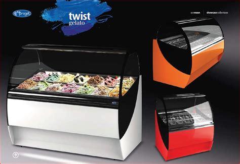 Freezer Gelato twist gelato displays gelato freezer displays