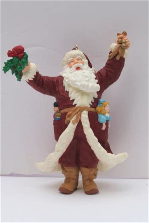 assorted vintage hallmark christmas ornaments collectible
