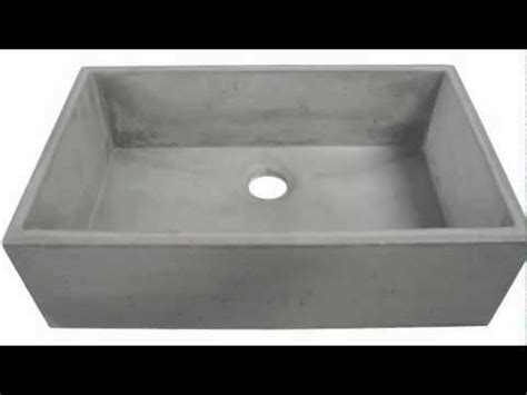 Concrete Farm Sink Abc3219 Co Youtube Concrete Kitchen Sink Molds