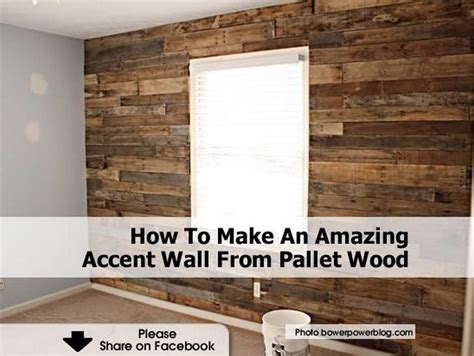 19 best images about wood accent walls on pinterest how to make an amazing accent wall from pallet wood