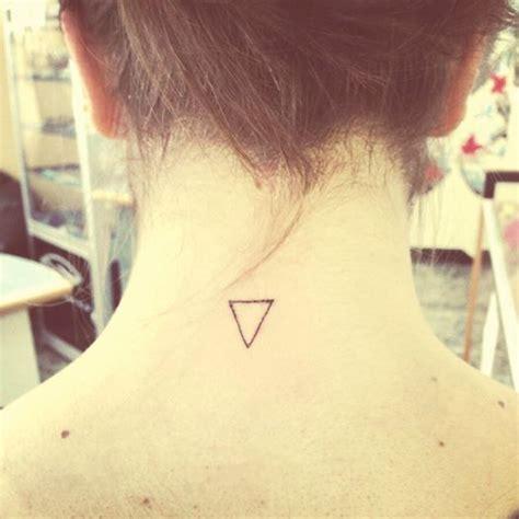 tattoo down neck 52 upside down triangle tattoos