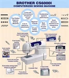 cs6000i sewing machine cs6000i review the sewing machine for