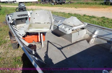 alweld boat dealers missouri 1989 alweld aluminum fishing boat and trailer no reserve