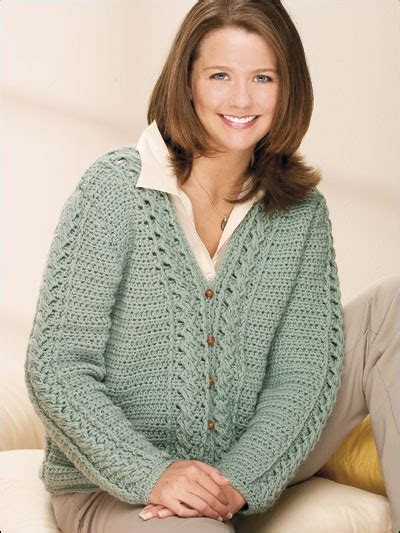 free crochet sweater patterns crochet cardigan patterns sea spray cabled cardigan
