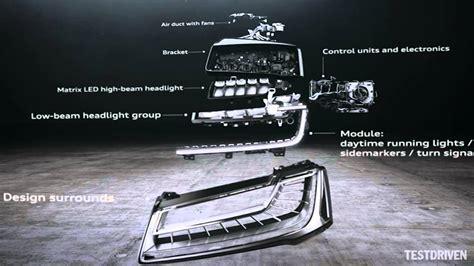 Matrix Led Audi by Audi A8 Matrix Led Headlights