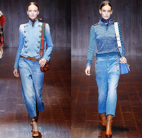 gucci 2015 spring summer womens runway denim jeans designer gucci 2015 spring summer womens runway denim jeans