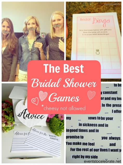 best bridal shower to play 2 the best bridal shower events to celebrate