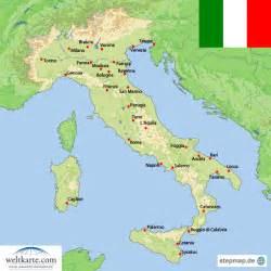 landkarte italien 220 bersichtskarte weltkarte