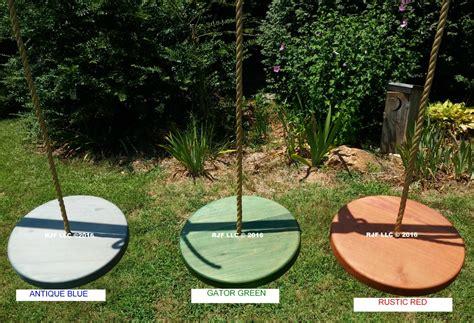 disc swing for tree disc wood tree swings