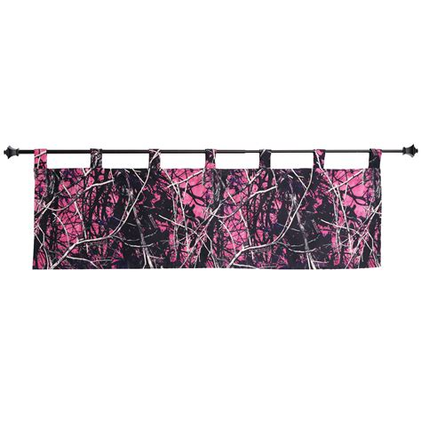 purple camo curtains muddy girl curtains muddy girl valance camo trading