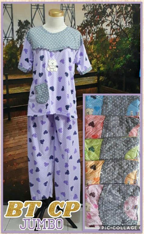 Baju Tidur Surabaya produsen baju tidur katun cp jumbo dewasa murah surabaya 33ribu