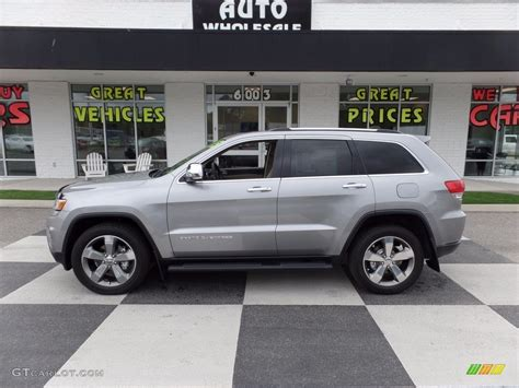 silver jeep grand cherokee 2015 billet silver metallic jeep grand cherokee limited