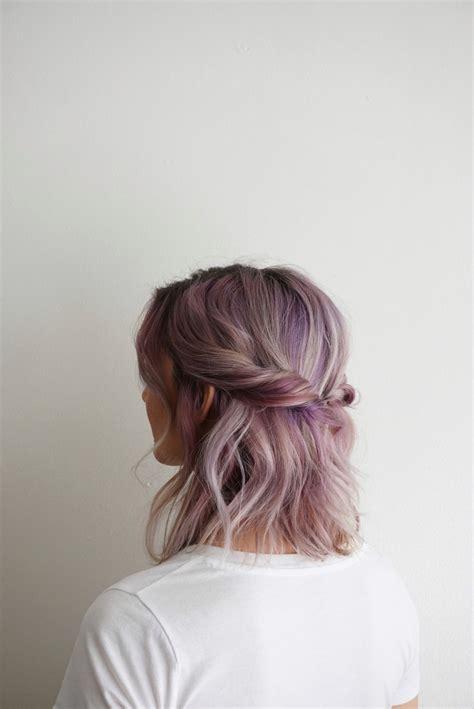 ways to dye short hair 5 ways to wear shoulder length hair cute girls hairstyles