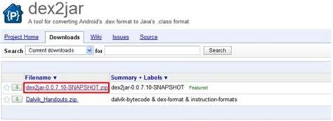 dex2jar apk android 안드로이드 apk 디컴파일 decompile 하기 네이버 블로그