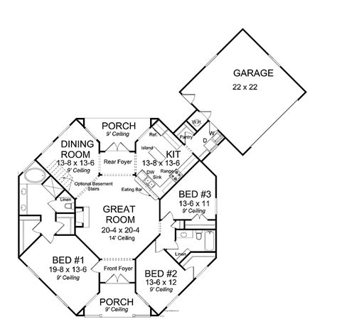 Octagon House Plan Octagon Plans Small Homes Studio Design Gallery Best Design