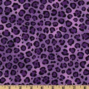 leopard print fabric animal print leopard purple black discount designer fabric fabric com