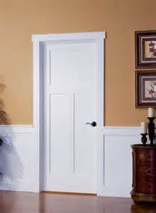 3 Panel Glass Interior Door Shaker Doors Interior Door Replacement Company
