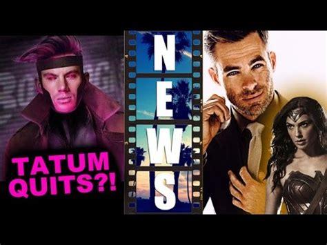 gambit film 2017 channing tatum quits gambit 2016 chris pine confirmed