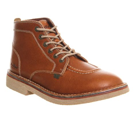 Sepatu Casual Kickers Slop Brown Leather kickers legendary boots in brown for lyst