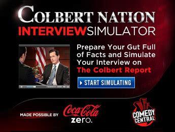 brilliant visions design portfolio of jarrett brilliant the colbert report interview simulator jarrett brilliant