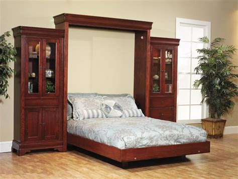 murphy beds louis phillipe amish murphy wall bed from dutchcrafters