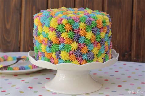 una tarta sencillsima de hacer con colores muy primaverales tarta primaveral el rinc 243 n de bea