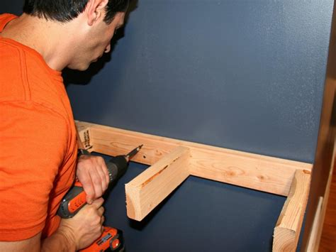 Wall Mounted Shelves by Build A Simple Bar Shelf For Extra Seating Hgtv