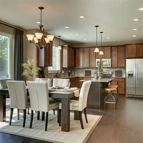 mattamy homes inspiration gallery dining area kitchens