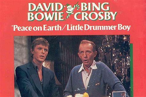 david crosby bing crosby 40 years ago david bowie and bing crosby ring in the holidays