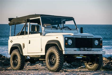 land rover vintage defender land rover defender 90 cool vintage autos post