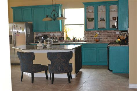 Turquoise Cabinets Kitchen Turquoise Kitchen Cabinets Home