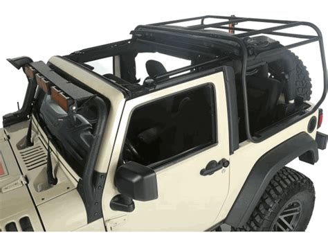 Jeep Top Roof Rack Exo Top Soft Top Roof Rack Jeep Wrangler Jk 2007 17 2