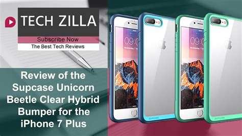 unicorn beetle clear hybrid bumper for the iphone 7 plus review