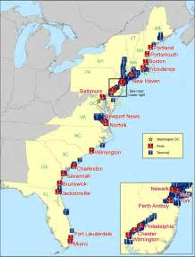 figure 1 atlantic coast u s seaports bureau of