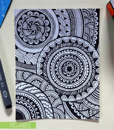 pattern design in drawing doodle circular pattern design doodle design pattern