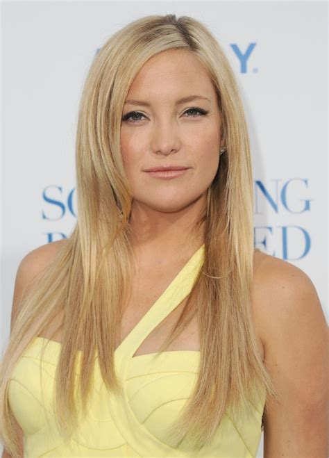 hairstyles for long straight hair with side bangs and layers kate hudson smooth straight hairstyles popular haircuts