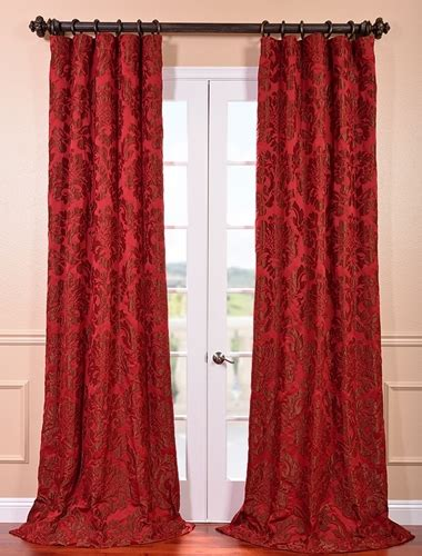deep red curtains new york fashion week trends applied to the home half