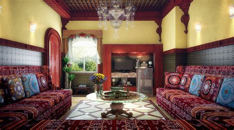 design interior rumah maroko membawa eksotisme maroko ke dalam rumah rooang com