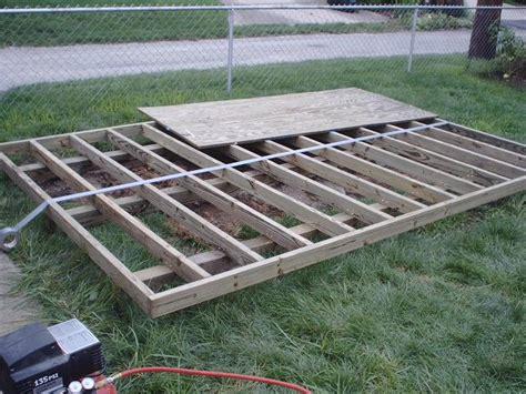 shed plans   build  shed floor   build