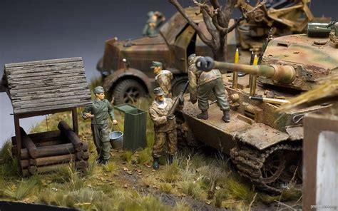 Kaos 3d The Walking Dead jerman diorama 1 35 kischentsy ukraina 1943