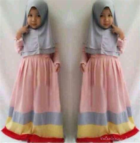 Baju Anak Rainbow Dress Anak baju muslim anak perempuan terbaru murah quot